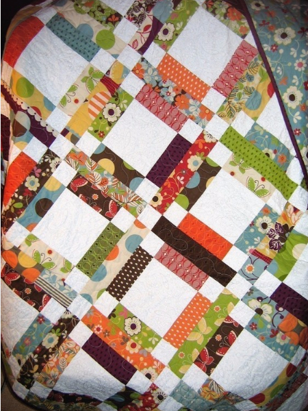 Jelly roll quilt pattern summer