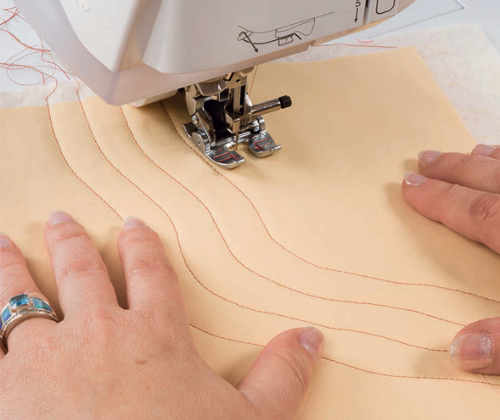Pat Sloan Machine Quilting with a walking foot