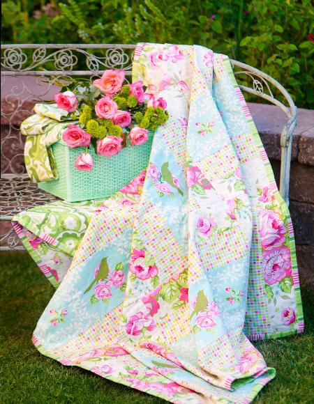 Vintage rose Garden District collection