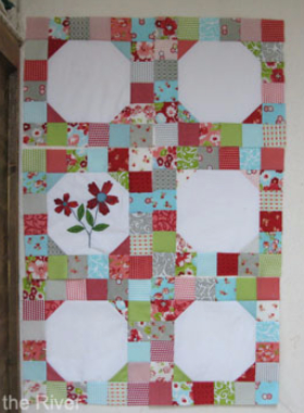 easy charm square quilt pattern