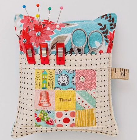 pincushion with a pocket