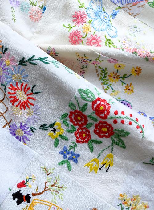 vintage linen quilt Jane Brocket