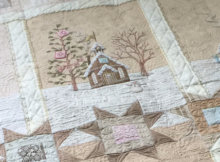 Lace Cabins Quilt pattern Crabapple