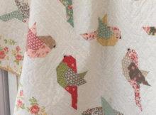 bird quilt pattern The Pattern Basket Margot Languedoc