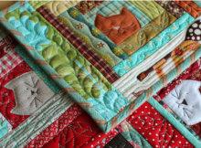 cat potholder quilt pattern