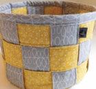 jelly roll strips woven basket