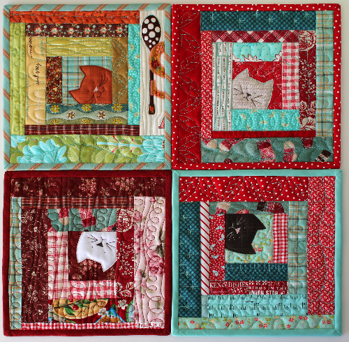 Kitty Potholders If You Love Little Projects Cats And