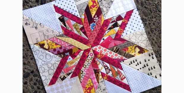 star block mix and match Carol Doak
