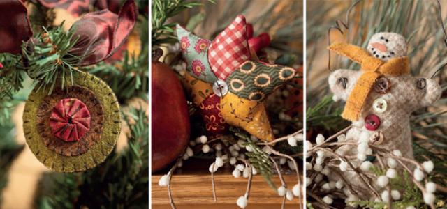 Christmas ornament pattern Christmas Tidings Kim Diehl