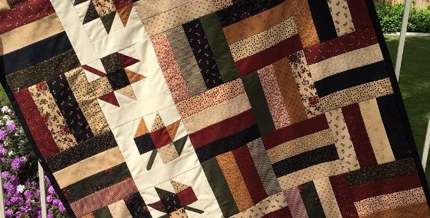 Gooseberry Lane Jelly Roll quilt pattern
