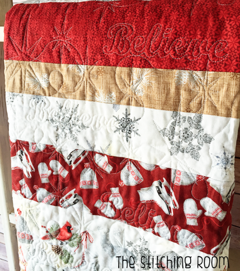 Winter Celebration Red Rooster Fabric