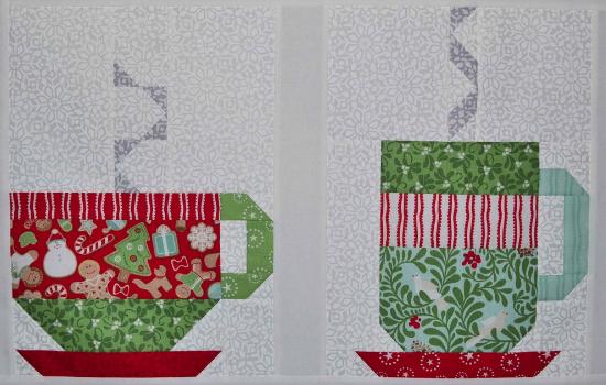 cups quilt block