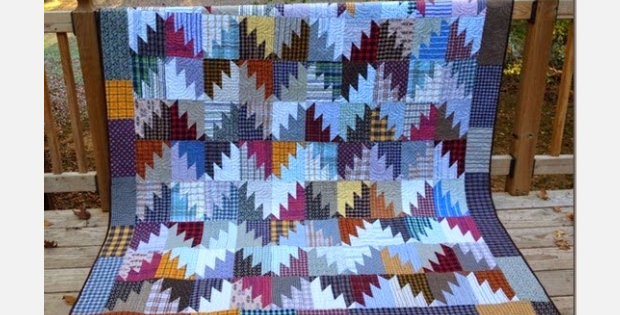 delectable mountain quilt plaid fabric