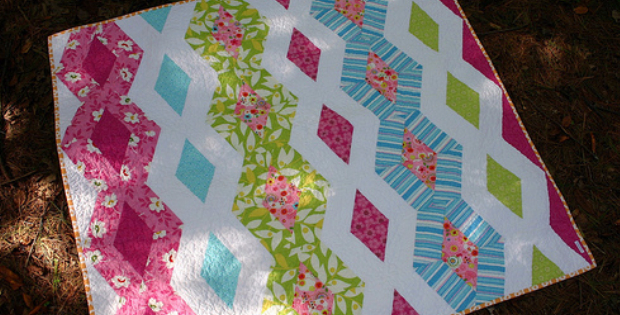 Diamond Chain Quilt For A New Adventure Quilting Cubby