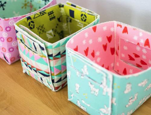 easy fabric basket