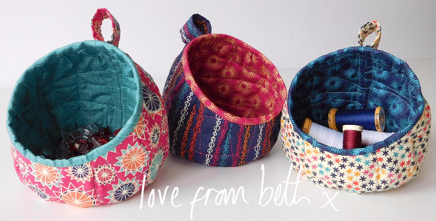Bubble Pods No Need To Hang These Crafty Fabric Baskets Quilting Cubby