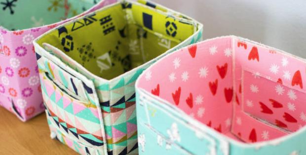 fabric basket free pattern