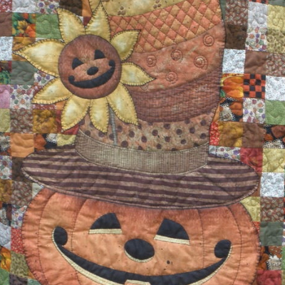 The Sweetest Wall Quilt For Fall With Patchwork Pete