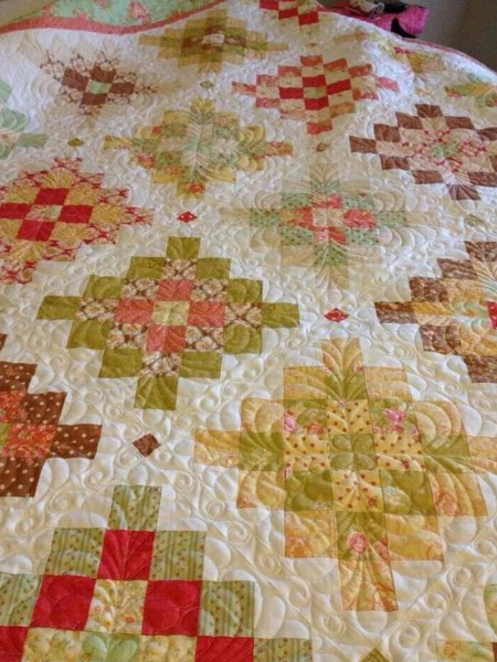 granny square free quilt pattern