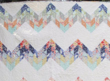 jelly roll quilt pattern misty mountain