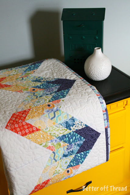 Misty Mountain Zig Zag Quilt Simple With A Jelly Roll