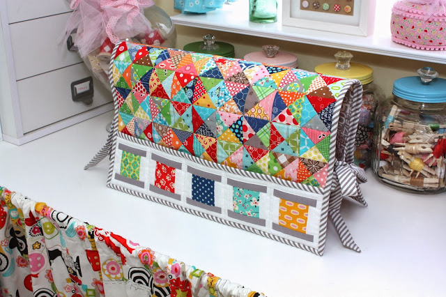 sewing machine cover with pockets lori holt