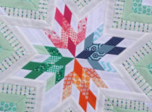 Aviatrix Medallion quilt pattern