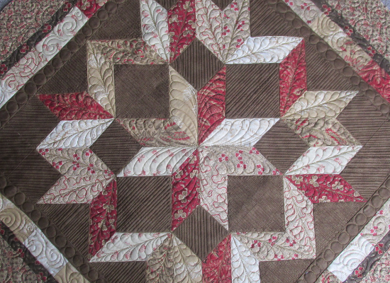 Bali Sky quilt Carpenters Star in three sizes