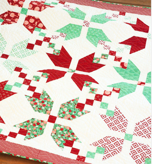 A Figgy Pudding Quilt To Add To Your Holiday Decor