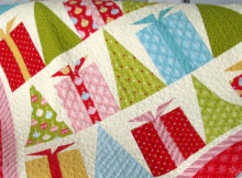 Christmas trees quilt pattern Hip Holidays