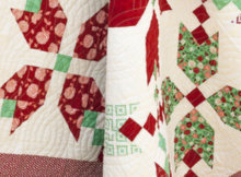 Figgy Pudding Quilt Holiday Decor
