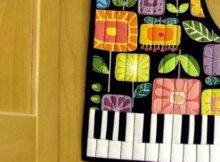 Grand Piano hot pad