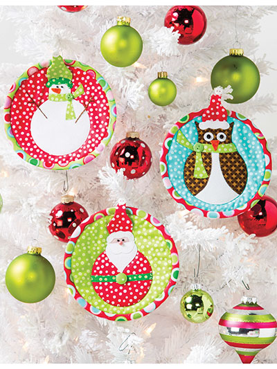 Jolly Christmas ornament pattern