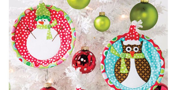 Jolly Christmas ornaments