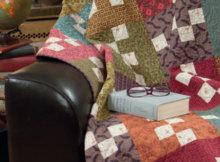 Kim Diehls Homestyle Quilts checkerboard quilt