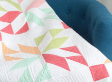 Layer Cake quilt pattern Lucky Thimble Blossoms