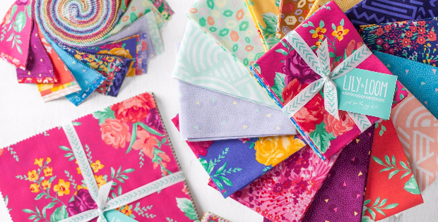 Lilly and Bloom Madison Park Fat quarters