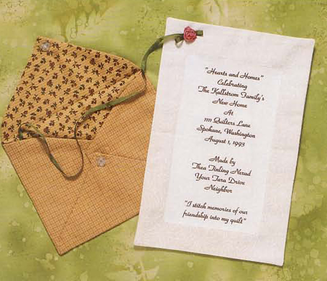 One Of A Kind Quilt Labels Thea Nerud