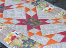 Sherri Falls Sew This and That table runner