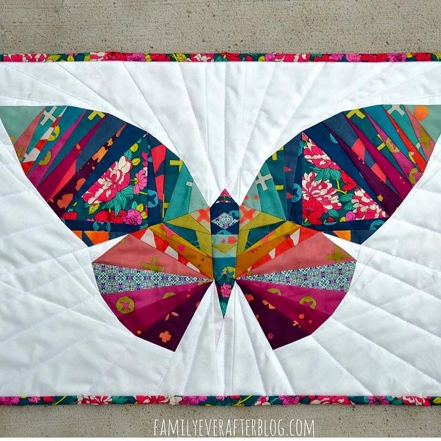 Take Wing Butterfly quilt pattern