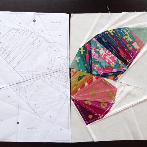 Take wing butterfly pattern
