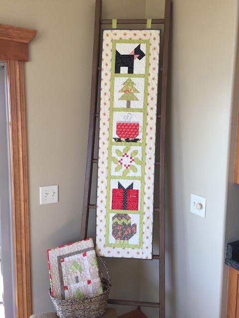 Winter Wonderland quilt blocks Sherri Falls