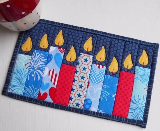 Celebration Candles Decorate Your Festive Table Quilting