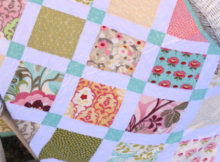 easy charm pack quilt