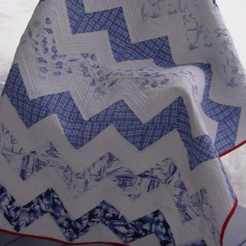 easy two color quilt pattern