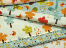 four fat quarters baby quilts