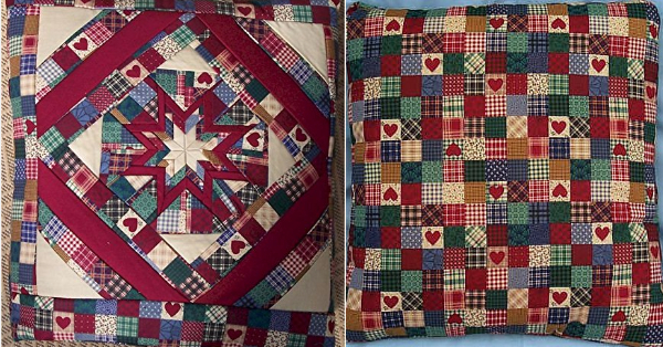 How To Make A Quilt Into A Quillow Using A Striking Amish Folded