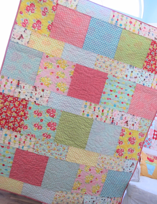 Layer Cake Pattern For Quick Baby Quilts,The Home, Any ...