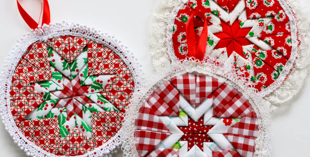 No Sew Christmas Ornaments To Decorate Your Tree Or Put In The ...