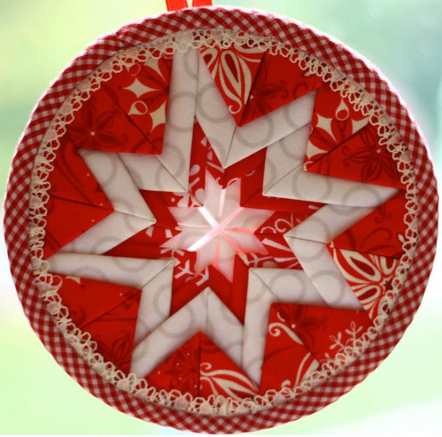 Quilt Christmas Ornaments